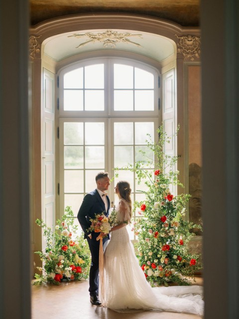 Graceful Wedding Shoot At A German Palace
