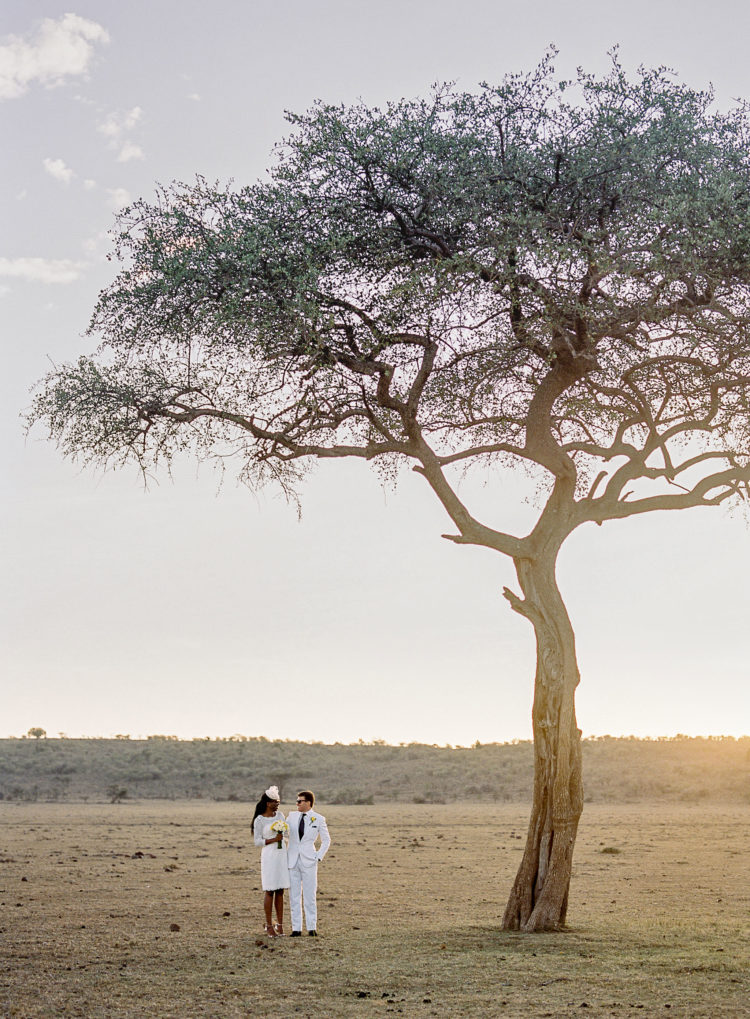Wild Safari Elopement In The Masai Mara
