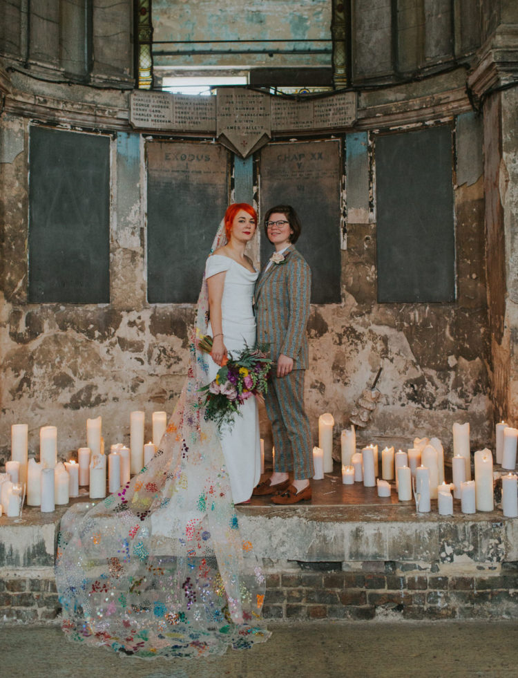 Color And Sparkles-Filled London Wedding