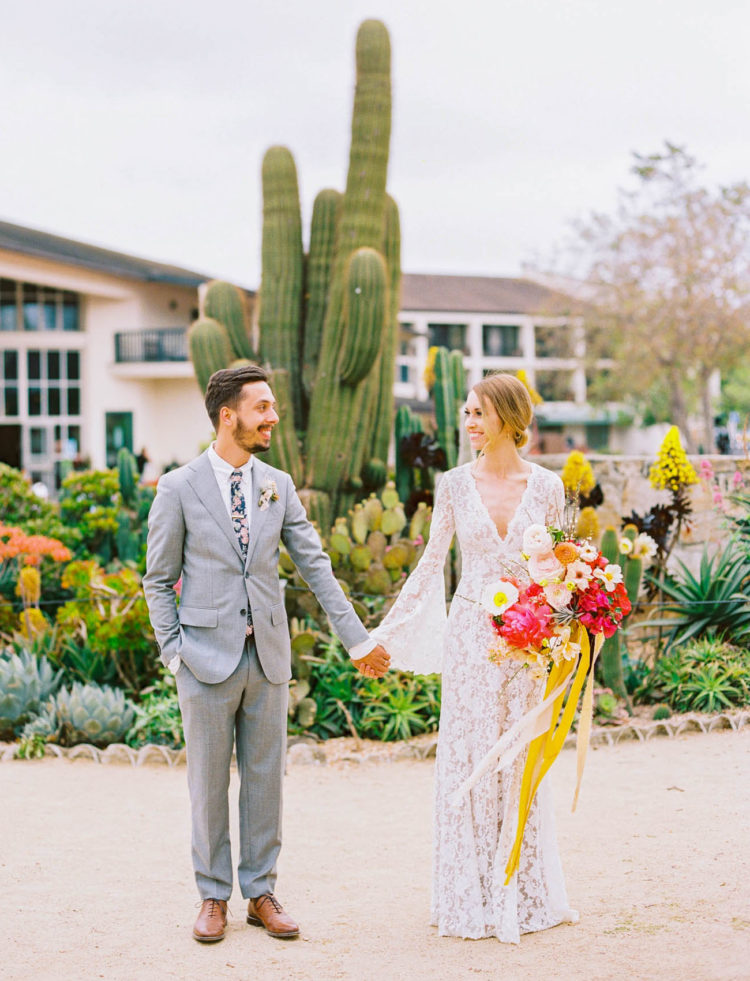 Vibrant Spanish-Inspired Wedding With Tons Of DIY
