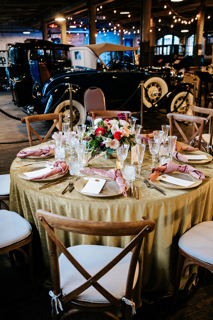 Fall Detroit Wedding At The Ford Piquette Plant