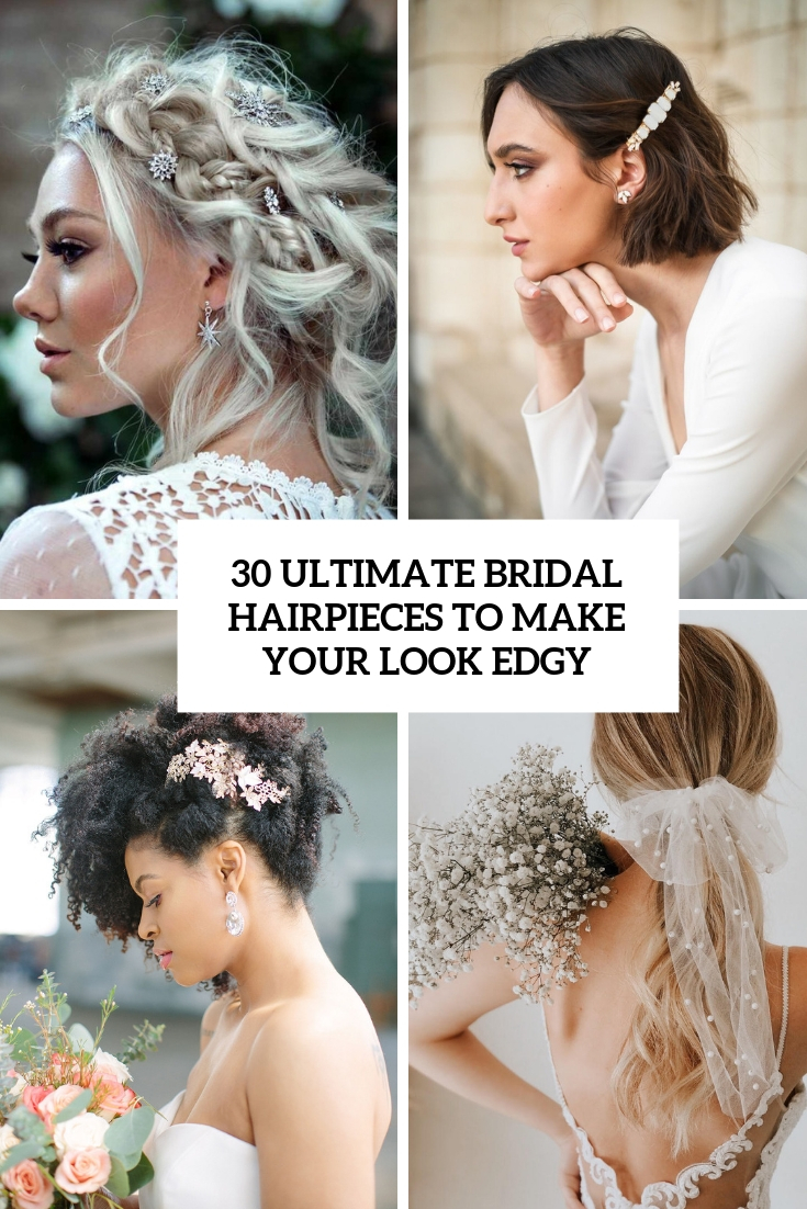 ultimate bridal hairpieces to make your look edgy cover