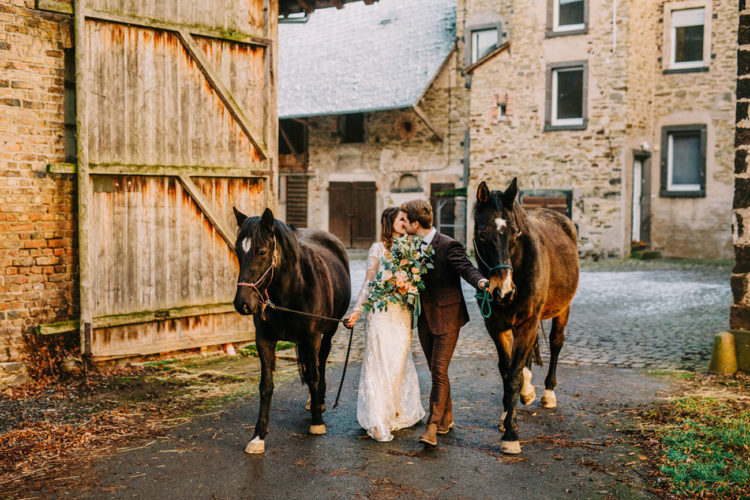 Horses are amazing for an equastrian-loving couple