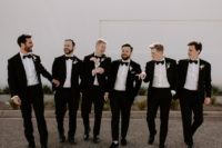 04 The groom and gents were rocking black tuxedos
