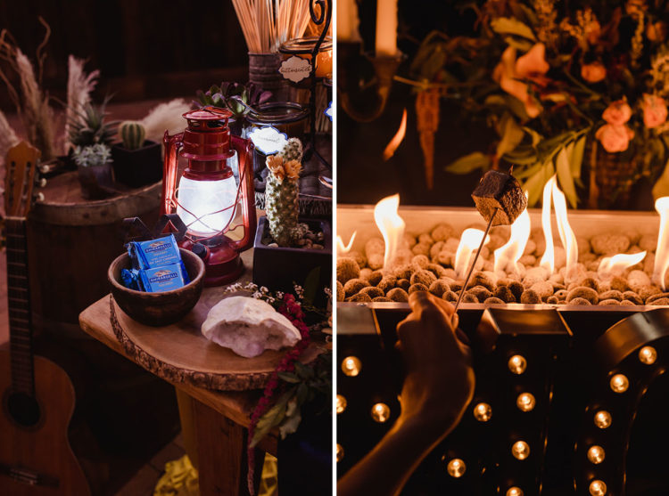 This is a gorgeous and fun idea for a witchy wedding, too