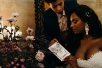 13 What a mystical elopement without soem Taro cards