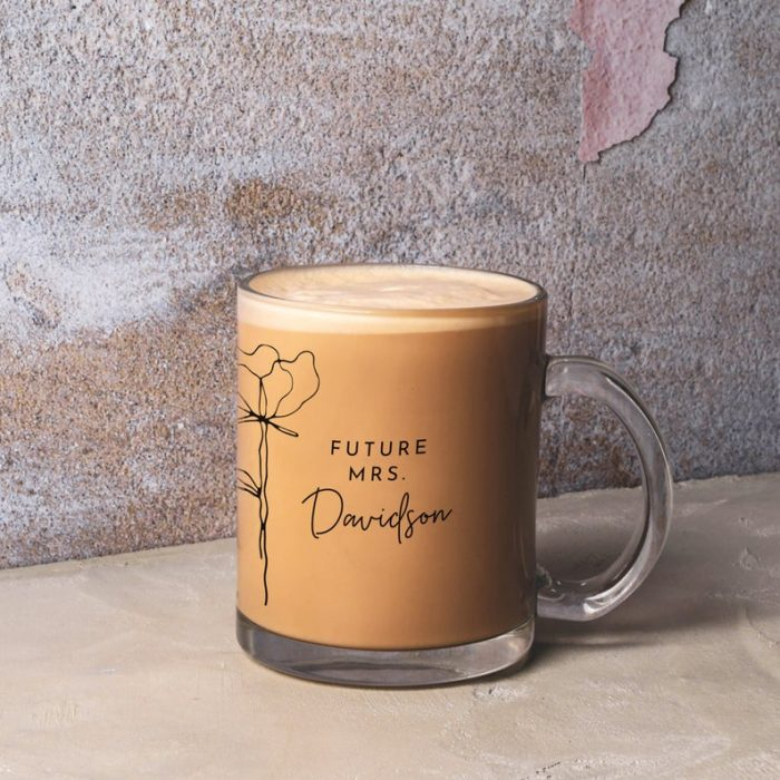 a future Mrs. mug is a stylish idea for any couple and it can be gifted by your second half, too