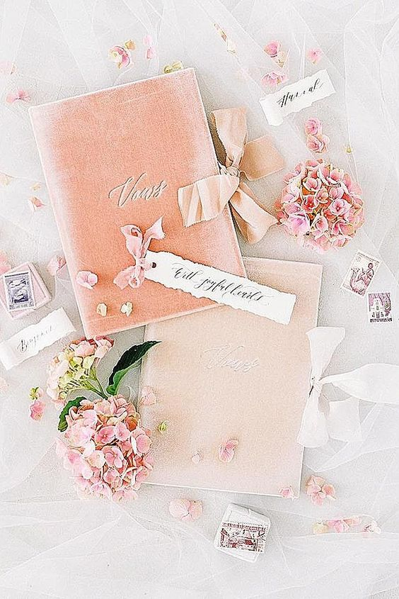 neutral leather covers for vows or for documents are amazing for a couple who are going to get married