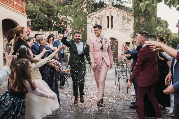 Bright Intimate Same Sex Barcelona Wedding