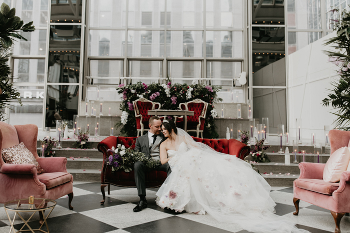 Whimsical Indoor Garden Wedding In Pittsburgh