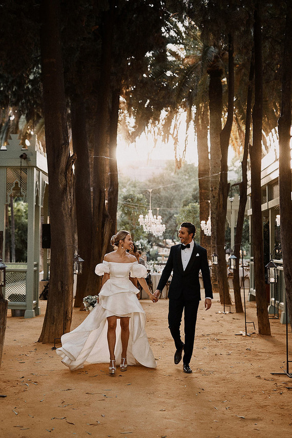 Fashion-Forward Seville Destination Wedding