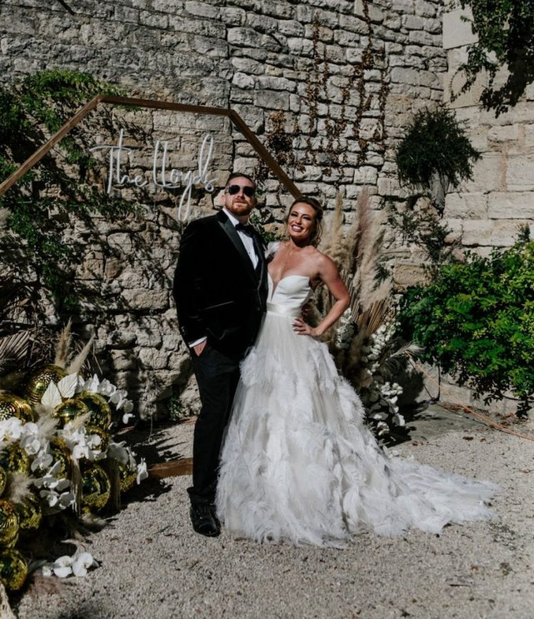 Stylish Black Tie Chateau Wedding In France