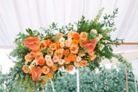 04 The florals were super lush, bright and of warm tones, which was the bride's request