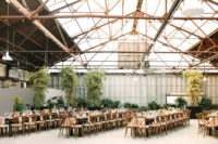 07 There was so much greenery that the venue didn't feel industrial at all