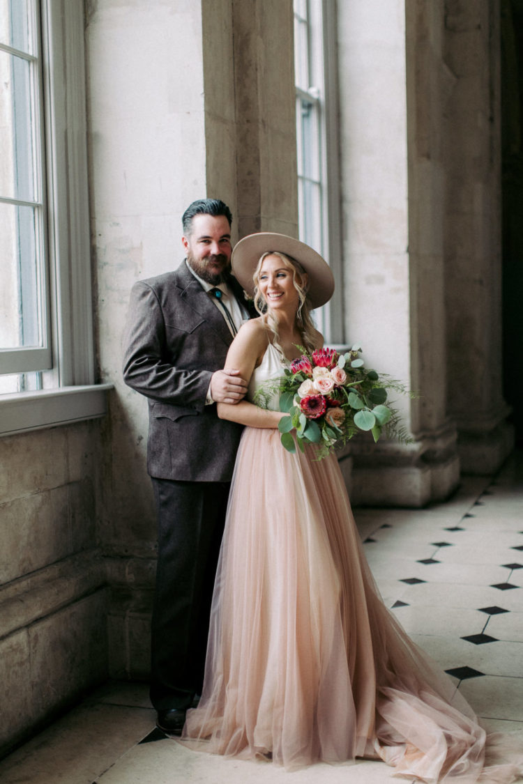 Cool Eclectic Dublin City Hall Wedding