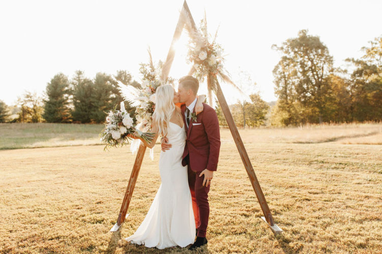 Paralympic Swimmer Jessica Long's Boho Wedding