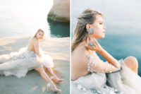 05 The bride was also wearing stunning celestial jewelry and looked wow