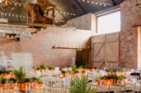 15 potted greenery and candles make up cool and chic modern wedding centerpieces with sustainability