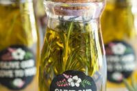 25 make herbed olive oil yourself and delight your guests with it
