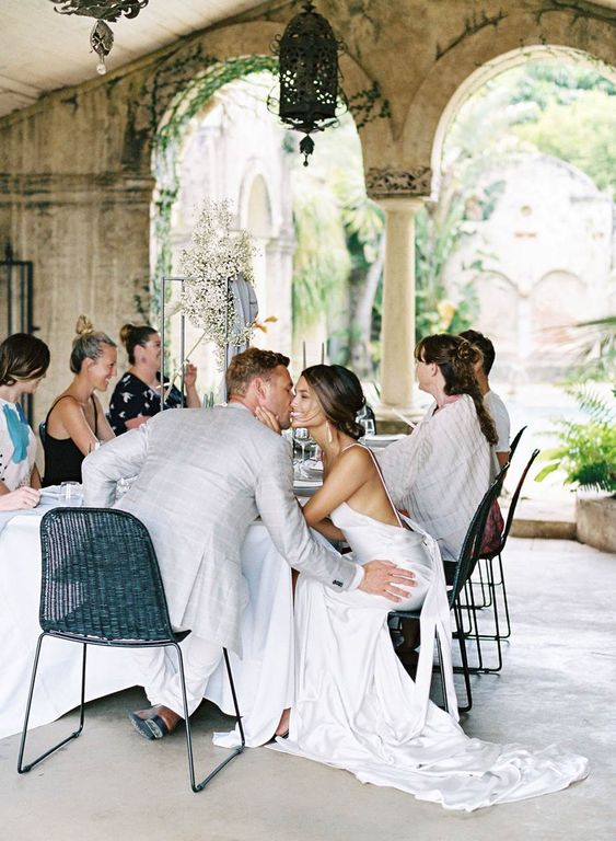 a micro wedding reception will make you two feel more comfortable and you can spend more time with your guests