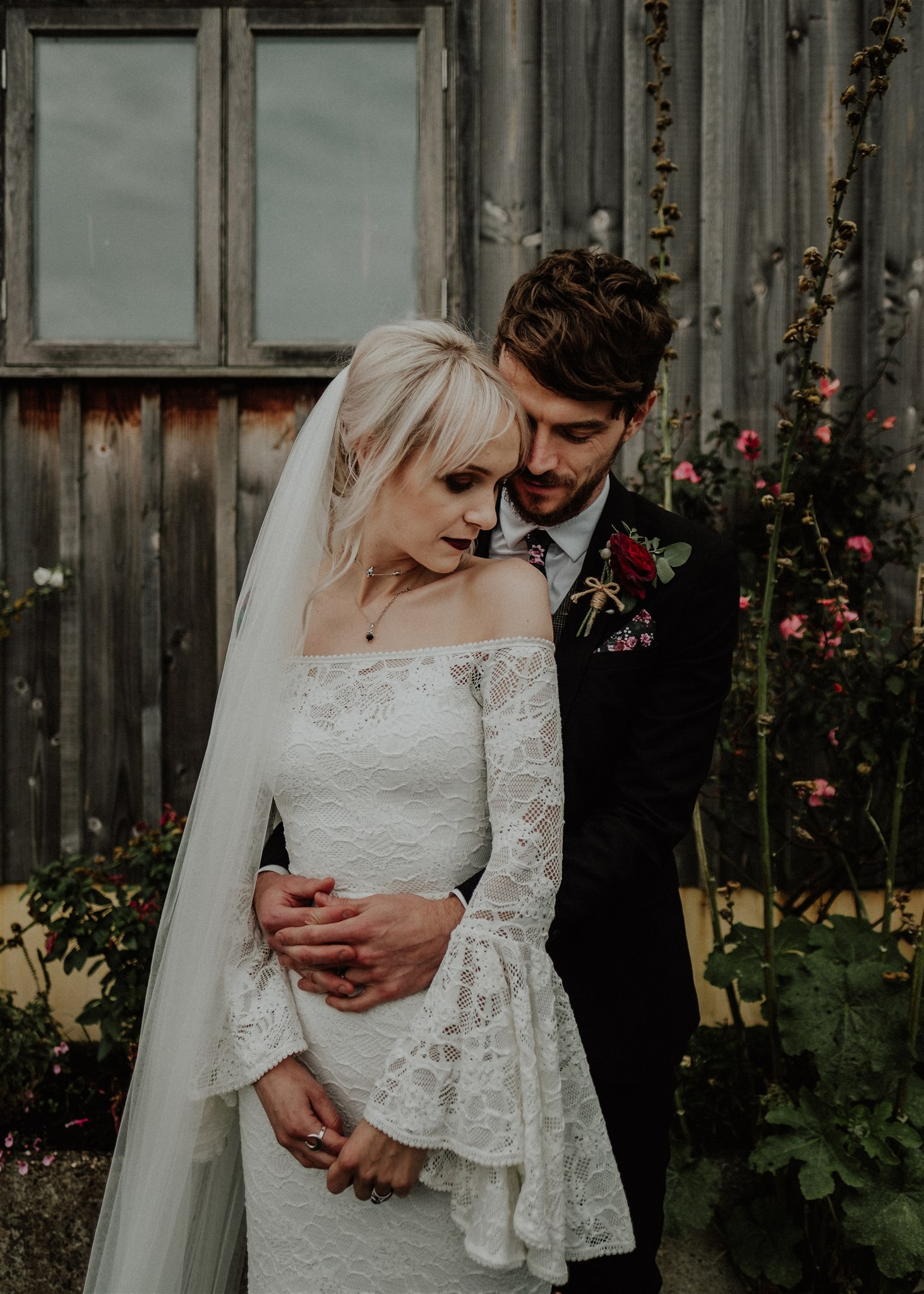 vegan wedding might be quite moody and nice