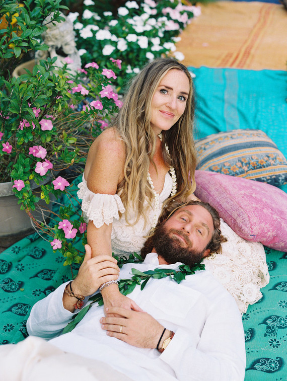 Boho Woodstock-Inspired Maui Wedding