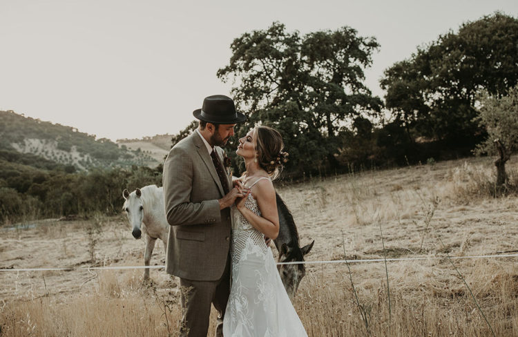 Waste-Free Boho-Inspired Wedding In Andalusia