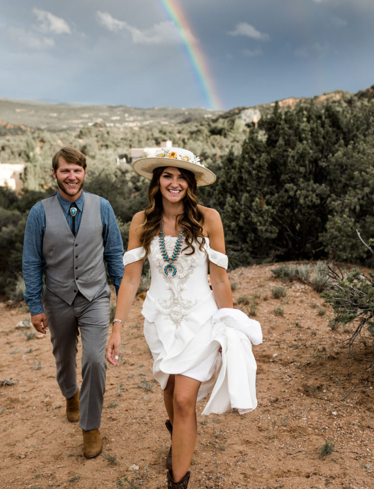 Vibrant And Free-Spirited Southwestern Wedding