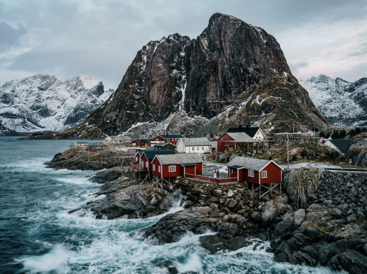 Lofoten is a gorgeous place to tie the knot