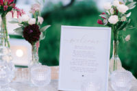07 The wedding stationary was simple and cute, done with lilac shades