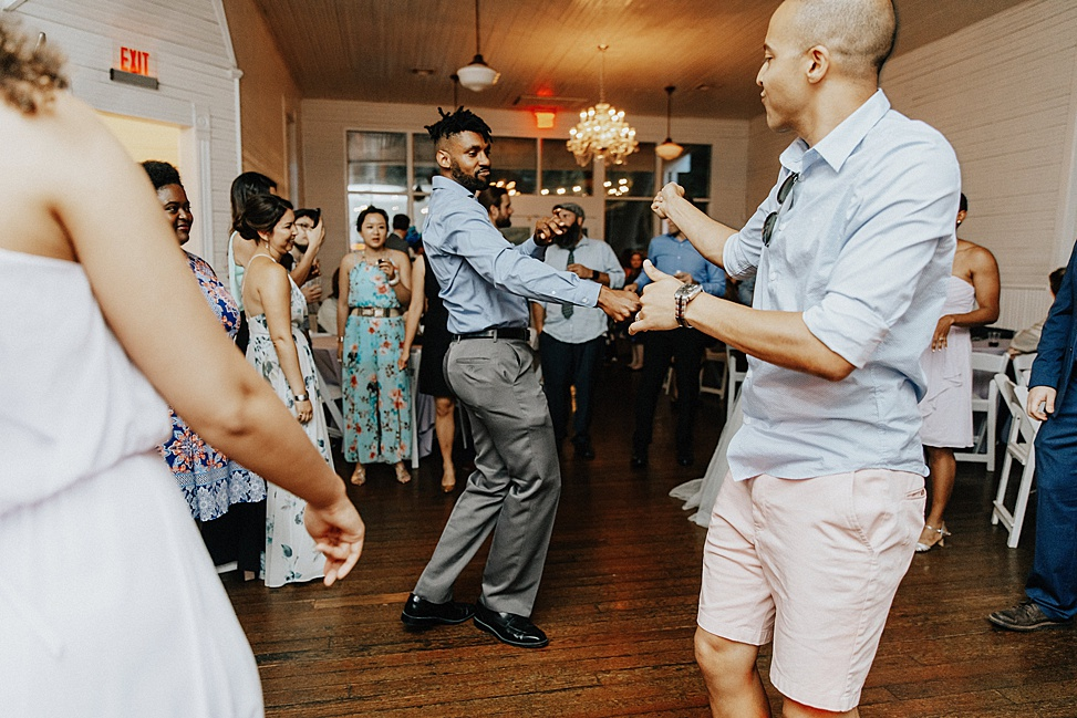 There were dance battles at the wedding, and they gained popularity
