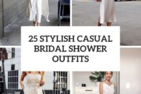 25 stylish casual bridal shower outfits cover
