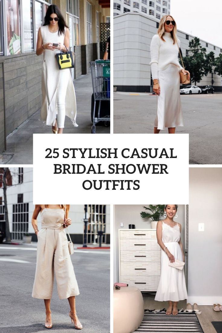 25 Stylish Casual Bridal Shower Outfits