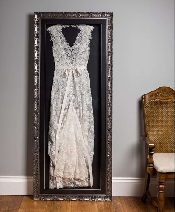 ask your wedding store or dress designer how to store your wedding dress, they usually know better