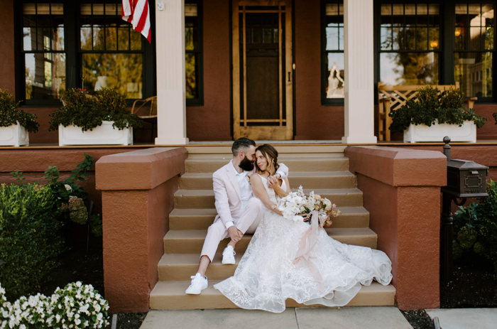 get married in your home, just two of you and no one else - say your vows