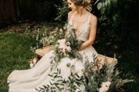 07 greenery and trees in your backyard will be a perfect natural backdrop for your wedding pics