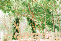 greenery wedding arch is a perfect decor piece for any space