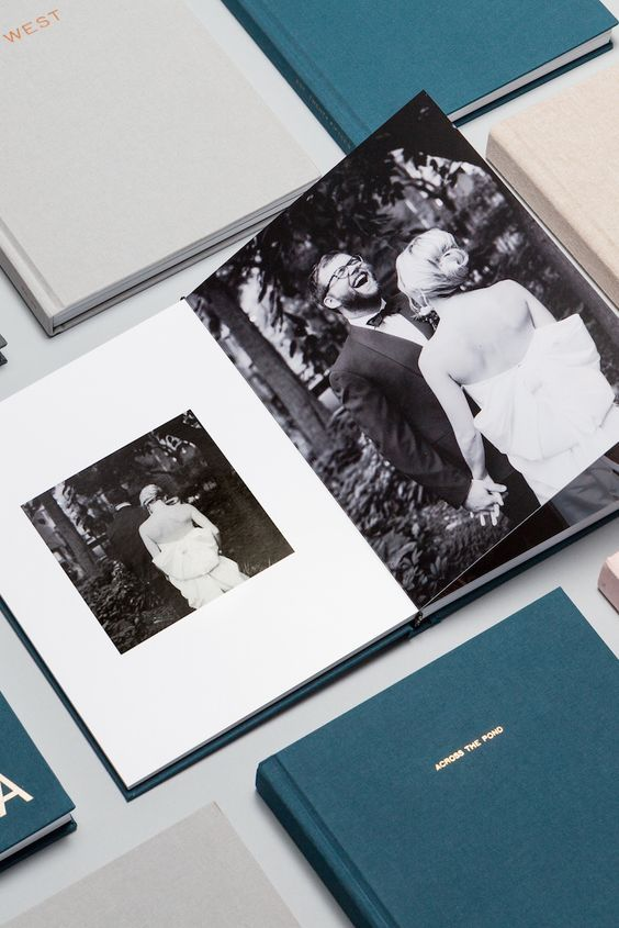 enjoy watching your wedding album and share these memories with each other