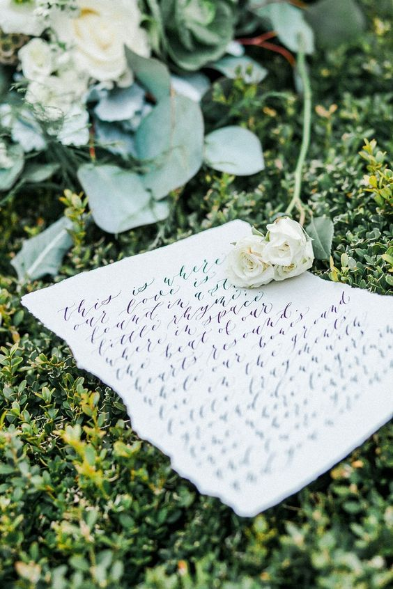 write some love letters to each other, too, and your day will be filled with love