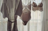 16 hang your wedding lingerie comfortably using hangers if they fit