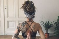 20 practice yoga altogether relaxing, having cool vibes and enjoying your yoga routine