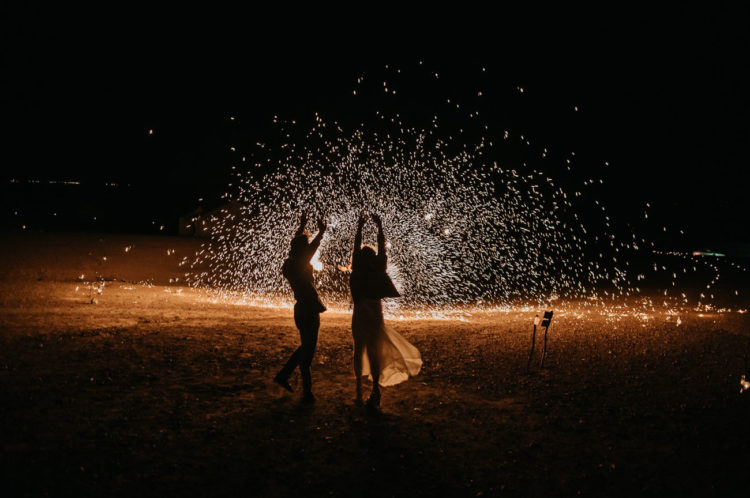 go for sparklers or even fireworks in yoru backyard to make it special