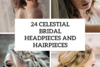 24 celestial bridal headpieces and hairpieces cover