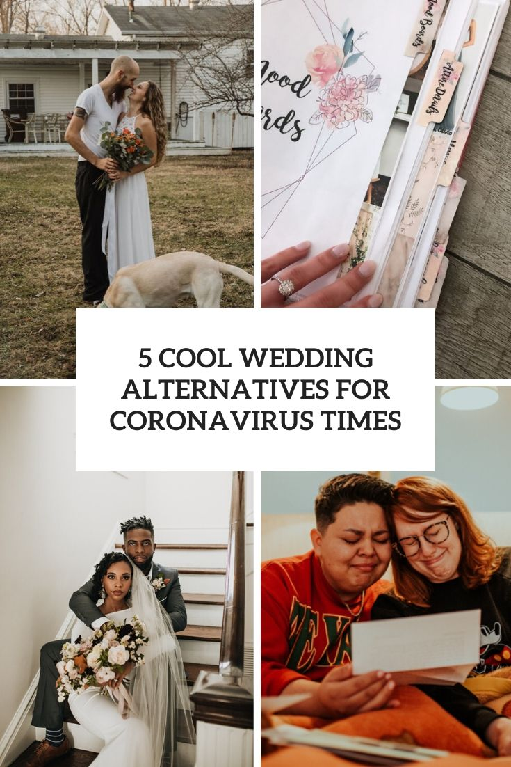 5 cool wedding alternatives for coronavirus times cover