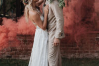 07 The couple loves smoke bombs and they were used for the portraits