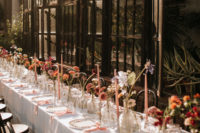 10 This is a perfect family table done right, with bright blooms