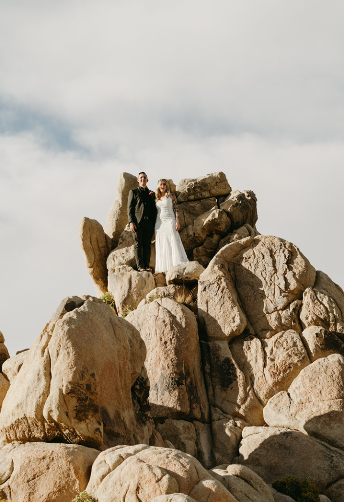 What a lovely and statement wedding