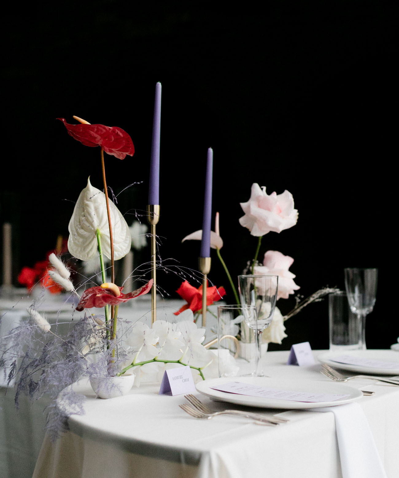 floral centerpieces mixes well with floral arrangements