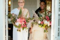 01 This couple went for a bright eclectic wedding that united their cultures and had a lot of fun