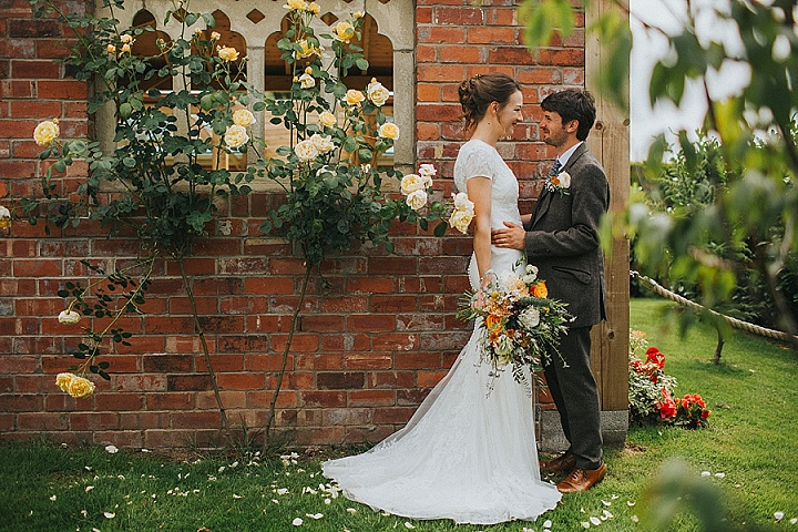 This couple went for a fully DIY homemade and homespun wedding at the bride's parents' farm